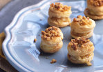 Miniature Camembert Walnut Pastries Recipe