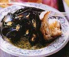 Mussels with Parsley and Garlic Recipe