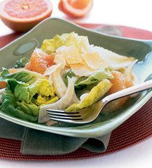 Pink Grapefruit, Fennel, and Parmesan Salad Recipe