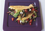 Poblano and Mushroom Tacos Recipe