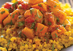 Quinoa with Moroccan Winter Squash and Carrot Stew Recipe