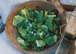Romaine Salad with Anchovy Dressing and Parmesan Recipe