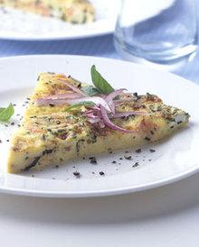 Smoked-Salmon and Cream Cheese Frittata Recipe