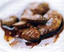 Sauteed Duck Foie Gras Recipe