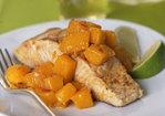 Seared Mahimahi with Hot-and-Sour Mango Relish Recipe