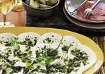 Spicy Marinated Mozzarella with Oregano and Capers Recipe