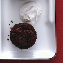 Sunken Chocolate-Orange Cupcakes Recipe