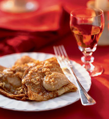 Warm Crepes with Hazelnut Brown Butter Recipe