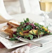 Watercress, Orange, and Avocado Salad Recipe