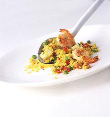 """""""Paella"""" Couscous Salad Recipe"""