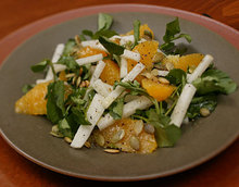 Orange, Jícama, and Watercress Salad Recipe