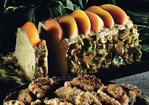 Peach and Pistachio Praline Semifreddo Recipe