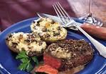 Peppercorn Steaks with Bourbon Sauce Recipe