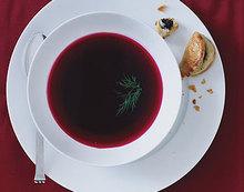 Beet Consommé Recipe