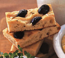 Rosemary Focaccia with Olives Recipe