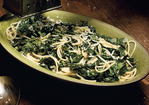 Spaghetti with Braised Kale Recipe