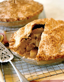 Spiced-Pear Pie Recipe