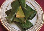 Bombay Fish Steamed in Banana Leaves Recipe
