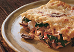 Swiss Chard Lasagna with Ricotta and Mushroom Recipe