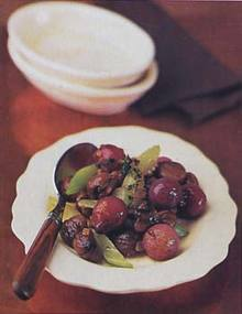 Braised Chestnut and Pearl Onion Confit Recipe