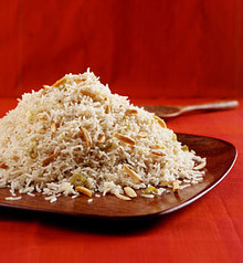 Indian Baked Rice Recipe