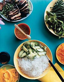 Cellophane-Noodle Salad with Roast Pork Recipe