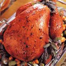 Citrus-Glazed Turkey with Chipotle Gravy Recipe