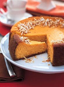 Coconut-Sweet Potato Cheesecake Recipe