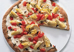 Artichoke, Goat Cheese and Chicken Pizza Recipe