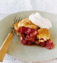 Country Rhubarb Cake Recipe