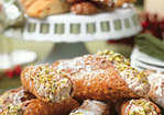 Dried Cherry and Ginger Cannoli Recipe