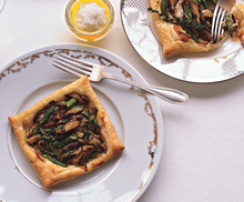 Asparagus and Mushroom Tarts Recipe