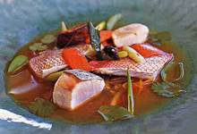 Fish and Vegetable Soup with Lime, Ginger, and Cilantro Recipe