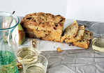Bacon Cheddar Quick Bread with Dried Pears Recipe