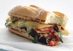 Grilled Eggplant Parmigiana Heros Recipe