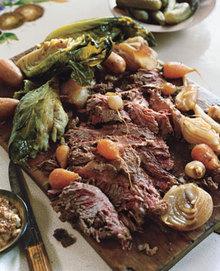 Homemade Irish Corned Beef and Vegetables Recipe