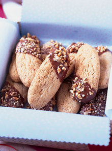 Hazelnut Shortbread Sticks Recipe