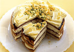 Lemon-Ginger Cake with Pistachios Recipe