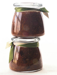 Balsamic Fig Chutney with Roasted Grapes Recipe