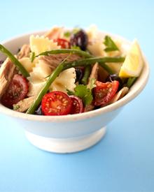 Mackerel pasta salad Recipe