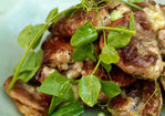 The best barbecued sticky chicken with lemon and garlic Recipe