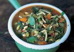 Early autumn minestrone (minestrone d'inizio autunno) Recipe