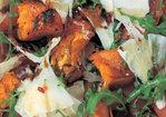 Warm salad of roasted squash, prosciutto and pecorino Recipe