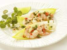 Shrimp with Mint, Chile, and Ginger Recipe