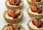 White Chocolate and Mascarpone Tarts Recipe