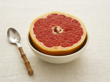 Pink Grapefruit Salad with Toasted Coconut and Fresh Mint Recipe