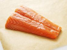 Roasted Salmon with Wild Mushroom Pan Sauce Recipe