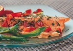 Trout with Fresh Tomato Herb Sauce Recipe
