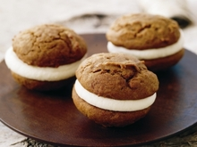 Pumpkin Whoopie Pies with Cream Cheese Filling Recipe