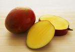 Almond-Coated Mahimahi with Mango Vinaigrette and Grilled Plantains Recipe